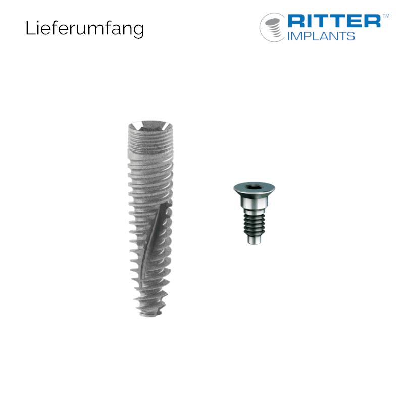Ø 3,0 mm SB/LA Spiral Implantat