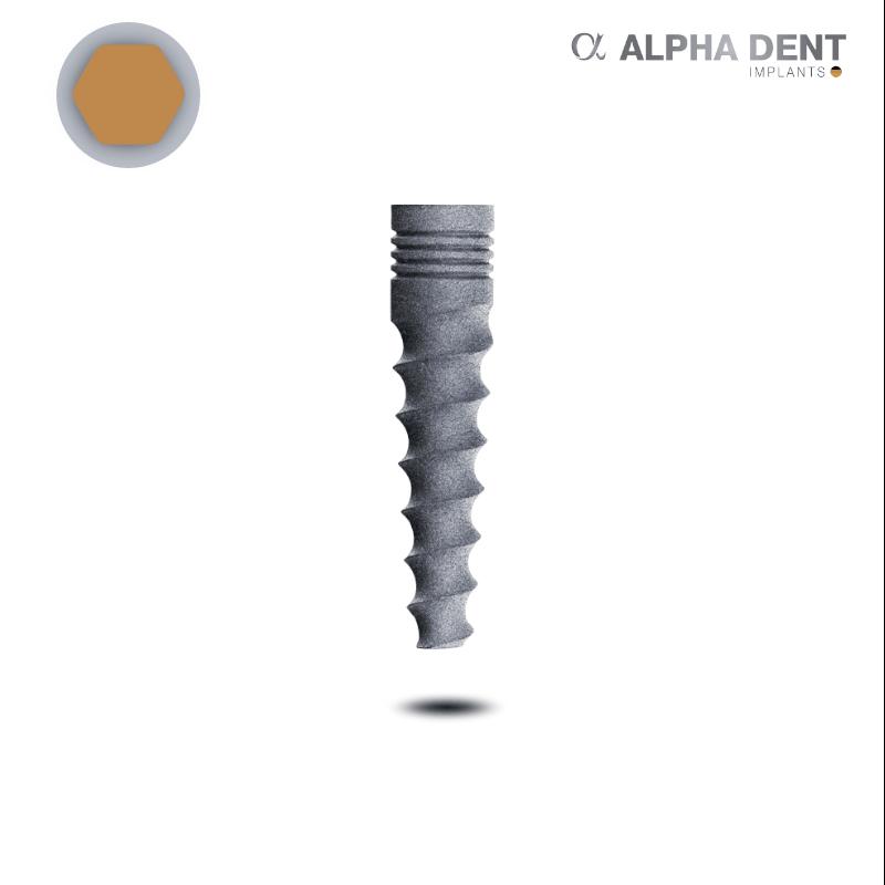 Slim Implantat (hex, schmal)