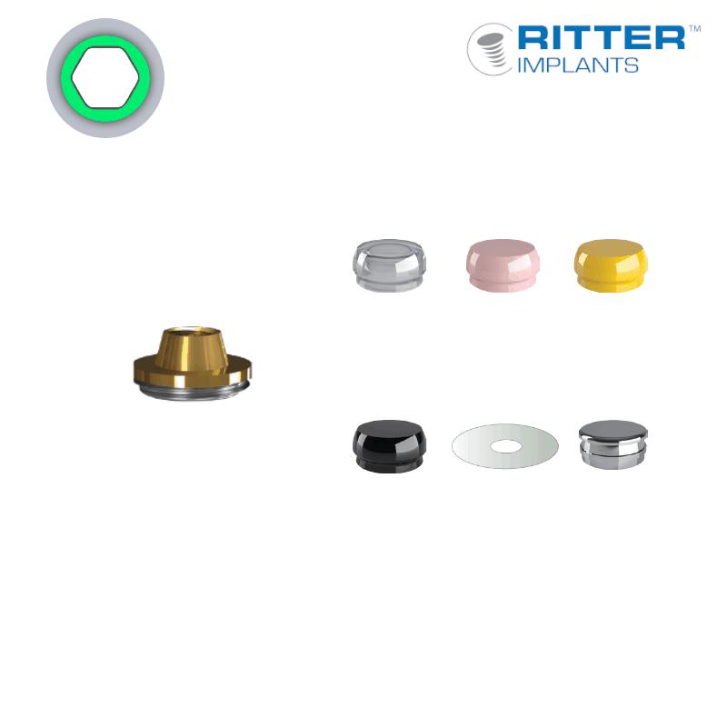2-teilige Multi-Unit Abutments (Aufbau)  (Ø 3,75 mm - standard)