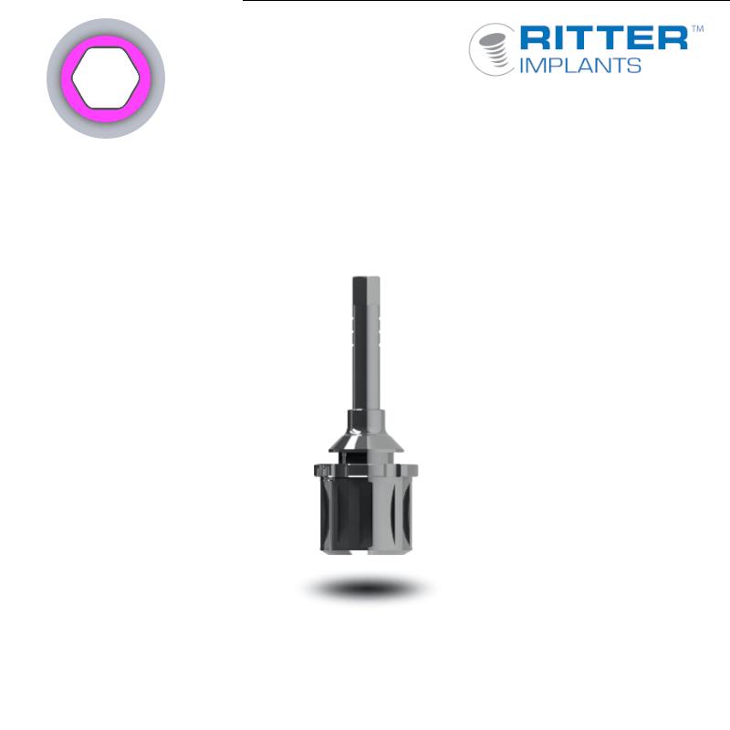 Einbringwerkzeug für Implantate mit Ratschenkopf (Ø 3,00 mm - schmal)