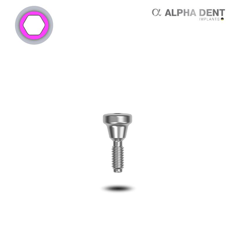 Alpha Dent - Einheilpfosten - schmale Plattform - konisch