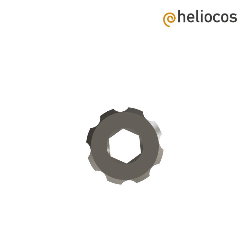 Handrad für Eindrehinstrumente mit Hex 6.4 mm