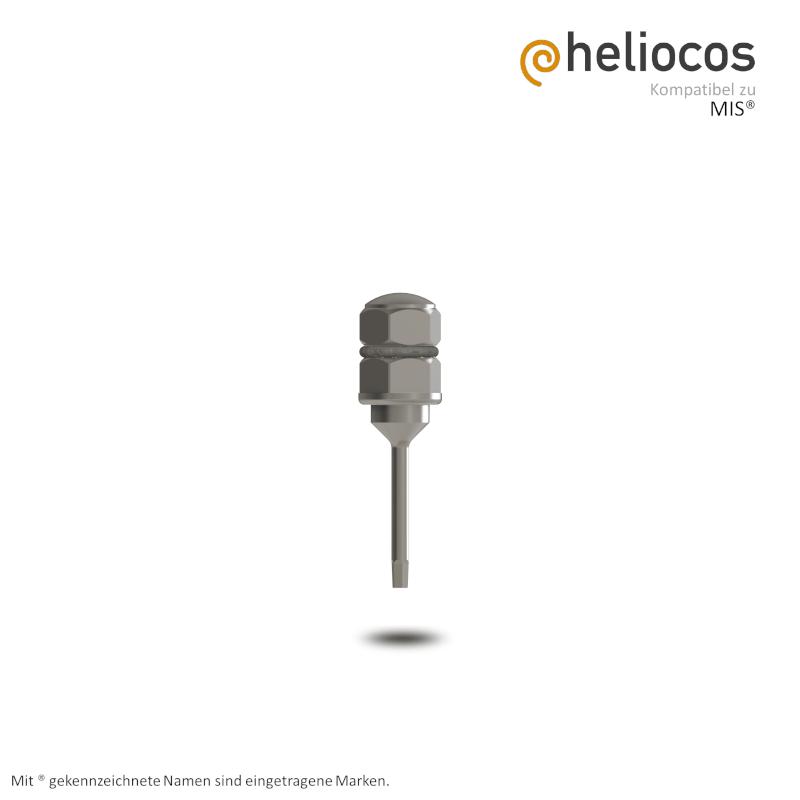 Eindrehinstrument mit Hex 1,26 mm für Ratsche kompatibel MIS®
