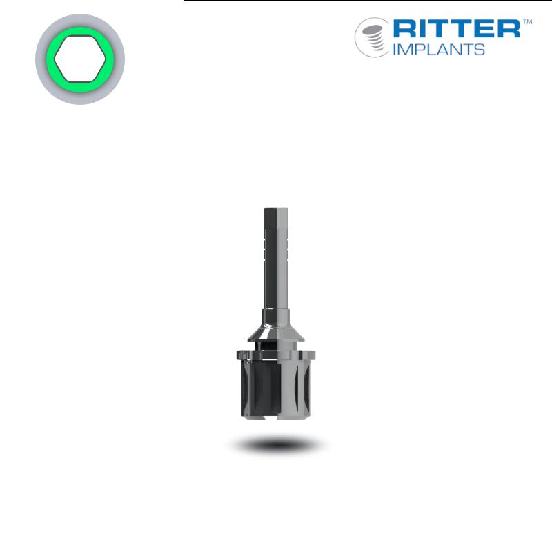 Einbringwerkzeug für Implantate mit Ratschenkopf (Ø 3,75 mm - standard)